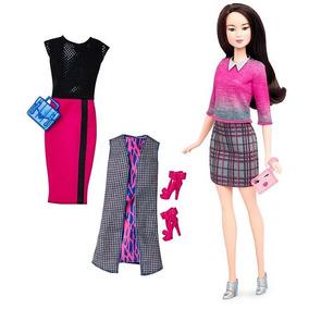 Boneca Barbie Fashionistas Com Acessórios- Mattel 36