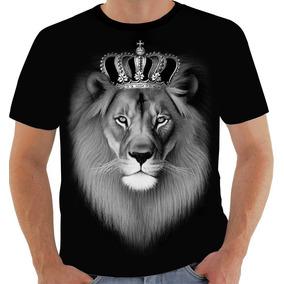 Camiseta Leão De Jah Tribo De Juda Lion Judah Reggae 9094 47de2a271db