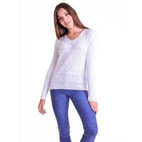 Sweater Escote V Dama - Mauro Sergio -art. 603