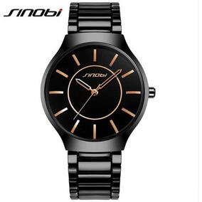 0e5aa7f5a12 Relógio Sinobi Todo Em Aço Inox - Relógios no Mercado Livre Brasil