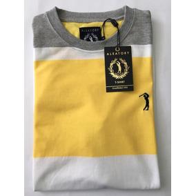 Camiseta Da Aleatory Listrada - Camisetas no Mercado Livre Brasil e3fea16c6b4