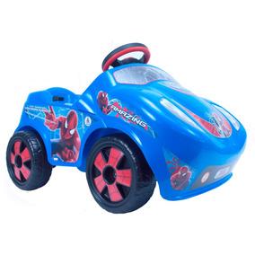 Coche Electrico Montable Infantil Fire Spiderman 6v Injusa