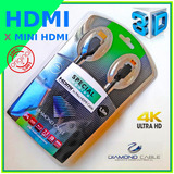 Cabo 1,5 M Dmd Mini Hdmi X Hdmi Para Placa Video Nvidia P600