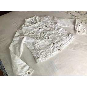 Chamarra De Mezclilla Blanca Gap Mujer - Ropa f45222c06ec8