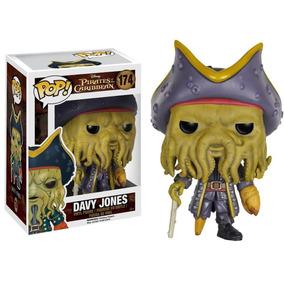 Boneco Pop Funko Pirates Caribbean Davy Jones #174