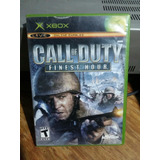 Call Of Duty Finest Hour Xbox Clasico