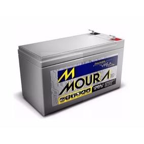 Kit 06 X Baterias Moura 7ah 12v - Nobreak, Cerca, Alarme