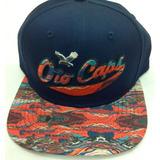 Gorra Oto Caps Azul Bordado Visera Plana Color 854727d4c40