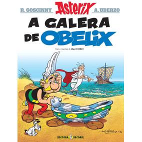 Livro Asterix A Galera De Obelix René Goscinny Editor Record