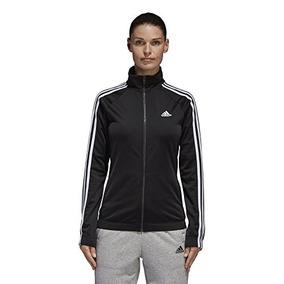 Chaqueta Deportiva adidas Designed-2-move Para Mujer, Negro