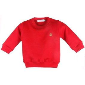 4d0f55549d Suéter Infantil Bebê Menino Empório Baby Vermelha