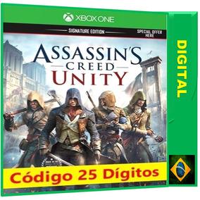 Assassins Creed Unity Xbox One Código 25 Digitos Envio Agora