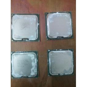 Procesadores Intel Pentium, Dual Core Y Core 2 Duo