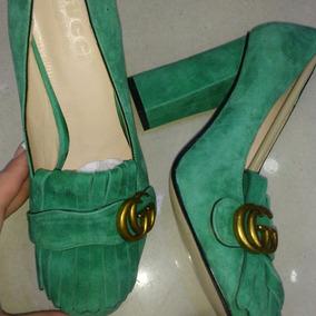 Sapato De Salto Gucci Original Masculino - Calçados ca093618336