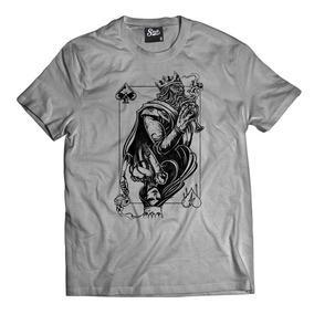 Camiseta King And Queen - Camisetas Manga Curta no Mercado Livre Brasil 6d106fed214df