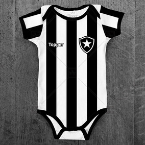 72ad9e3acb0de Body Infantil Botafogo Futebol Personalizado C  Nome Do Bebê