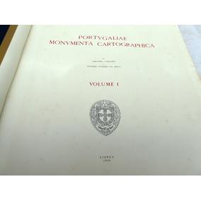 Livro - Portugaliae Monumenta Cartographica - Mapas Mundiais