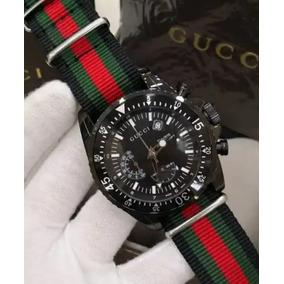 Relógio Gucci Black Listrado
