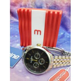 Relógio Mondaine Original Todo Em Aço Fantástico