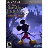 Mickey Mouse Castle Of Illusion ~ Ps3 Digital Español