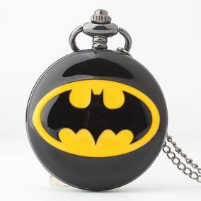 Reloj Bolsillo Estilo Vintage Batman Envío Gratis