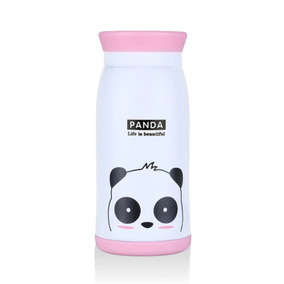 Botella Térmica Acero Inoxidable Panda Kawaii 500 Ml