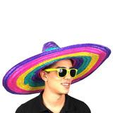 Chapéu Mexicano El Sombrero Palha Colorido Melhor Preço! 008725e9df7