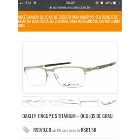 Oculos Original Oakley Spike Titanium - Óculos no Mercado Livre Brasil fc22e9a934