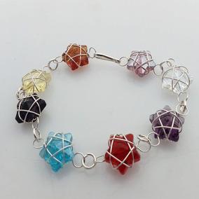 Pulsera De Estrellas Joyeria Cristal Colores