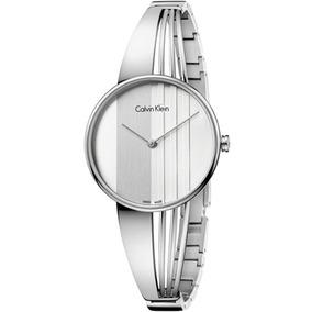5e01ae754f6 Relogio Calvin Klein Feminino Prata - Relógios De Pulso no Mercado ...