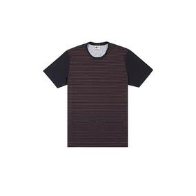 Camiseta Mcd Edição Limitada Listrada - Camisetas Manga Curta para ... 57f056c1ad1