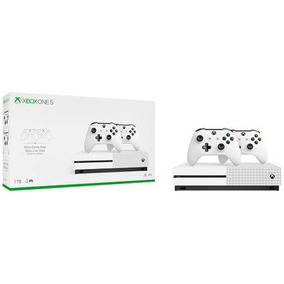 Xbox One S 1 Tb 4k Uhd +2 Controles +1 Mês De Game Pass