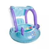 Boia Bote Infantil Baby Seat Ring C/ Cobertura Para Bebê Ntk