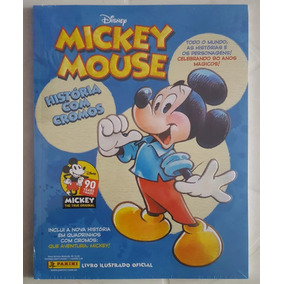 Álbum Figurinhas Mickey Mouse 90 Anos Completo P/colar