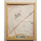 Toalla Bebe Niña Baby Adir