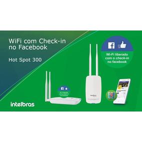 Roteador Hotspot 300 Intelbras Check-in Facebook