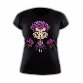 Playera Frida Kahlo Catrina Halloween !!!