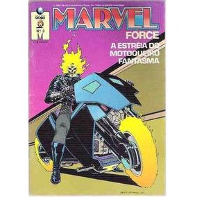 Gibi Marvel Force Nº 3 Ed. Globo
