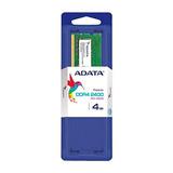 Memoria Ram Ddr4 4gb 2400mhz Adata Ad4s2400j4g17-s Laptop