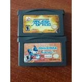 Lote 2 Juegos Original Nintendo Gameboy Advanced