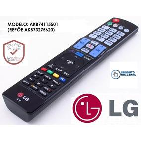 Controle Remoto Lg Original Akb74115501 Repõe Akb73275620