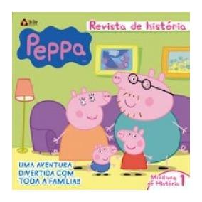 Livro Peppa Pig Revista De Historia Vol.1