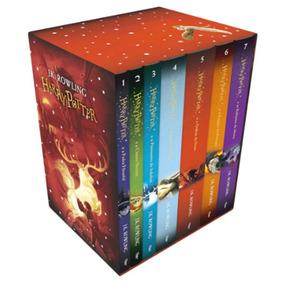 Caixa Harry Potter Edição Premium Com 7 Livros Novos E Lacra