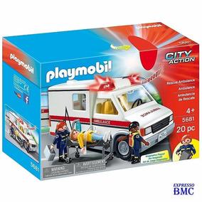 Playmobil City Action Ambulância De Resgate 5681