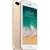 Usado - iPhone 7 Plus 32gb Gold + Capa E Película De Vidro!
