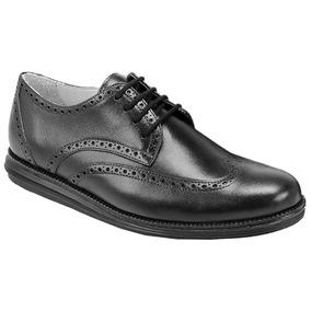 Sapato Social Masculino Oxford Sandro Moscoloni Sean Preto