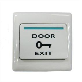 Boton Pulsador Tecla De Salida Para Control De Acceso