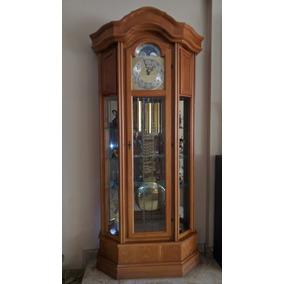 Reloj De Pie De Péndulo Importado.origen Alemán/italia.roble
