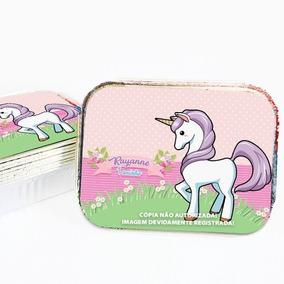 30 Marmita Personalizada Festa Lembrança Unicornio