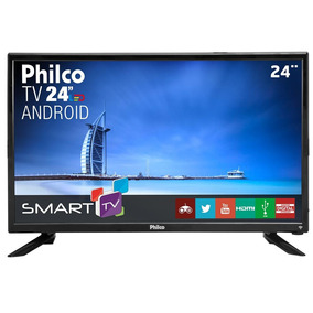 Smarttv Led 24 Philco Ptv24n91sa Quad-core Som Surround